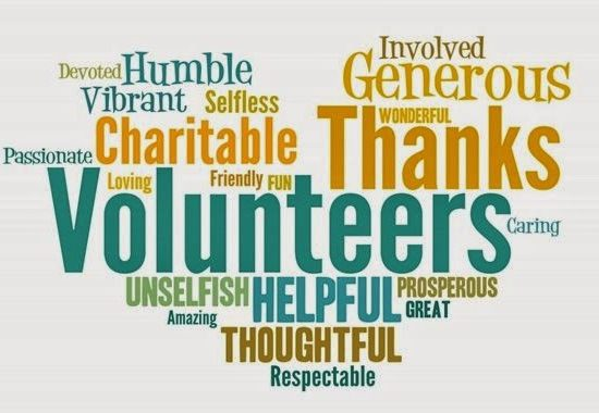 volunteer words